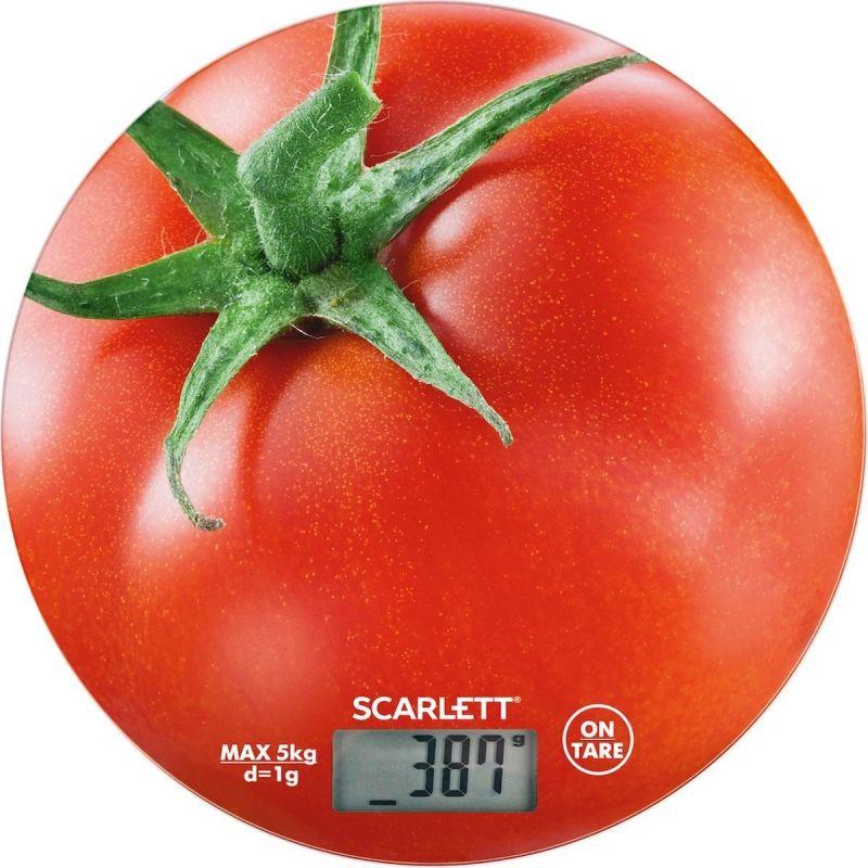 Весы кухонные электронные Scarlett SC-KS57P38 макс.вес:5кг рисунок