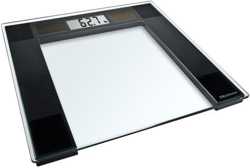Весы напольные электронные Medisana PSS макс.180кг прозрачный/черный