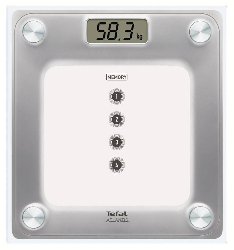 Весы напольные электронные Tefal PP3020V1 макс.160кг белый