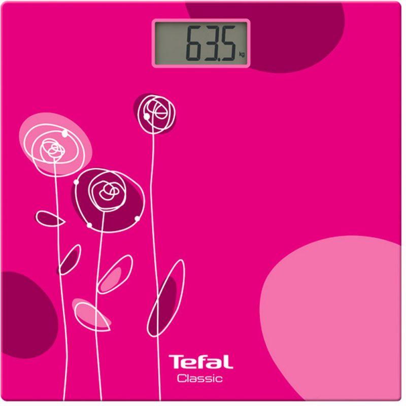 Весы напольные электронные Tefal PP1147V0 макс.160кг розовый