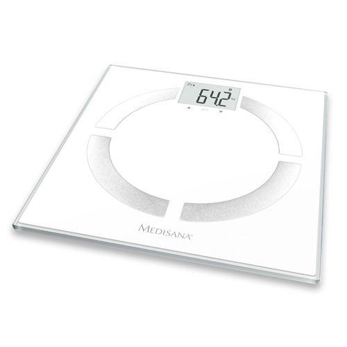 Весы напольные электронные Medisana BS 444 Connect макс.180кг белый