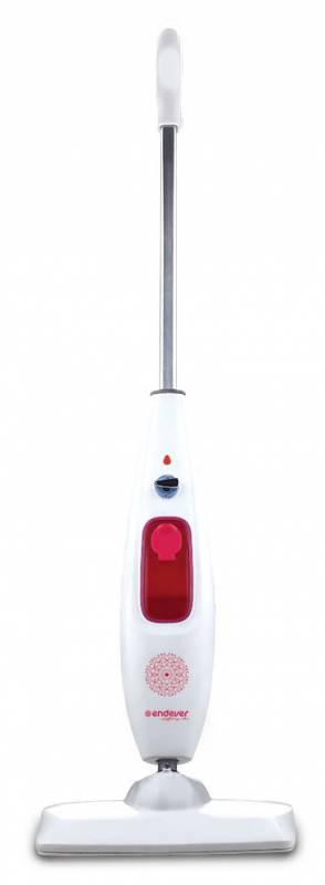 Швабра паровая Endever Odyssey Q-606 1700Вт белый/красный (плохая упаковка)