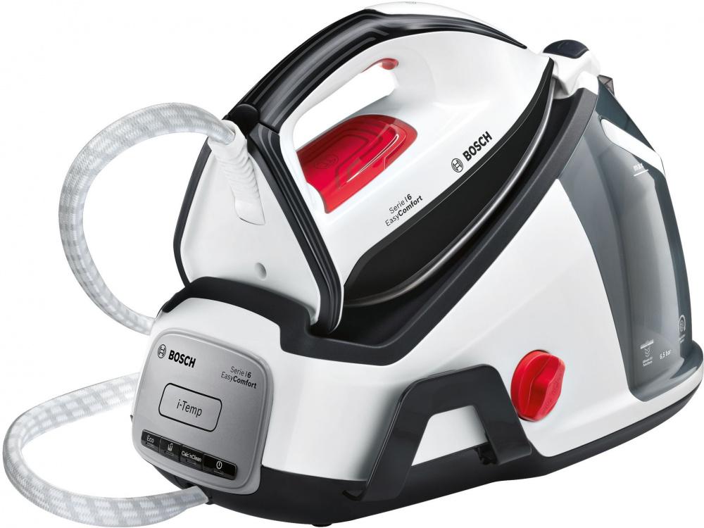 Парогенератор Bosch TDS6540 2400Вт белый/серый