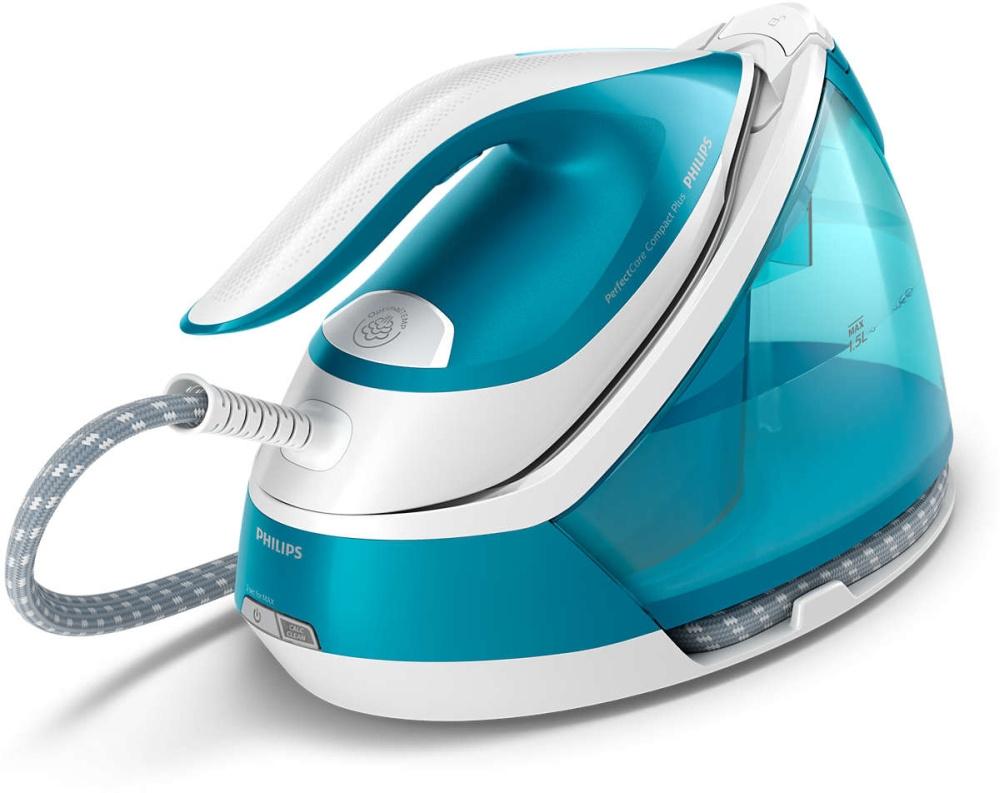 Парогенератор Philips GC7920/20 2400Вт голубой/белый