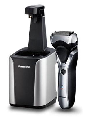 Бритва сетчатая Panasonic ES-RT87-S520 реж.эл.:3 питан.:аккум. серебристый/черный