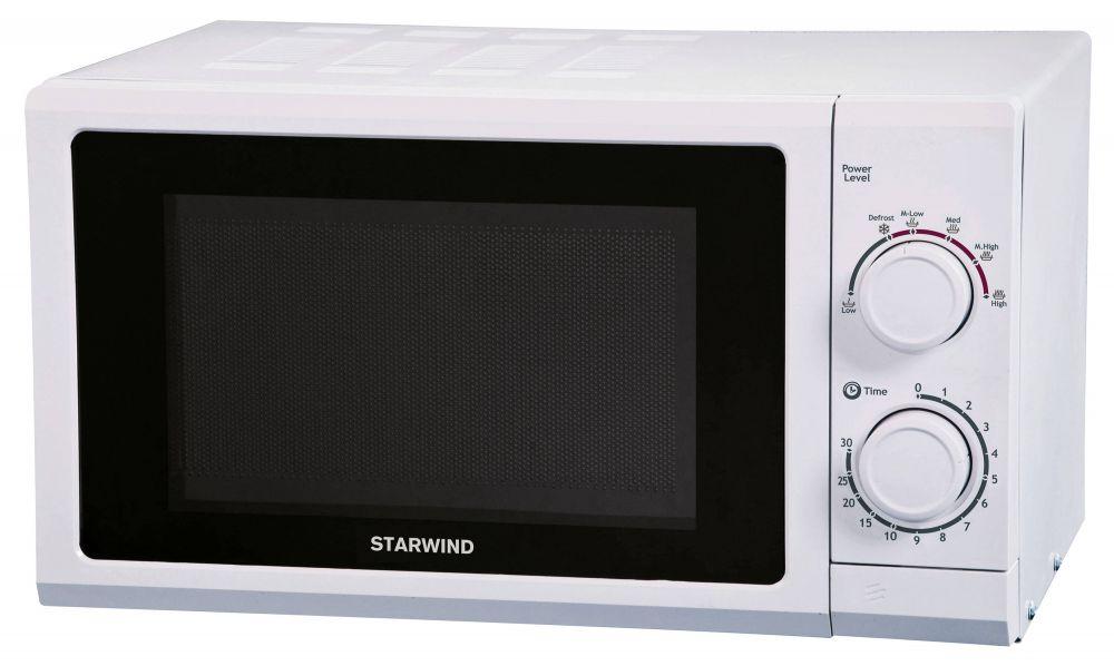 Микроволновая Печь Starwind SMW3217 17л. 700Вт белый