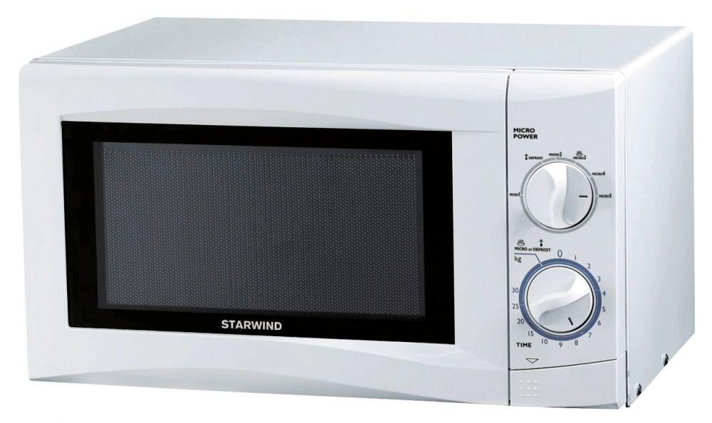 Микроволновая Печь Starwind SMW3220 20л. 700Вт белый