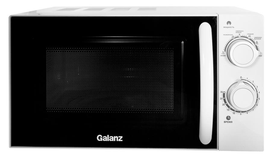Микроволновая Печь Galanz MOG-2005M 20л. 700Вт белый (плохая упаковка)