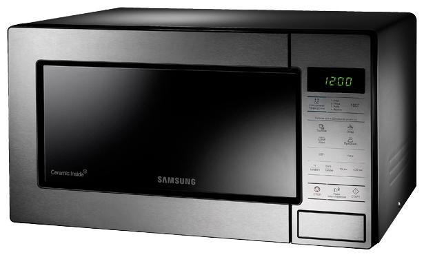 Микроволновая Печь Samsung GE83MRTS/BW 23л. 800Вт серебристый