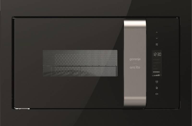 Микроволновая печь Gorenje BM235ORAB 23л. 900Вт черный/серебристый (встраиваемая)