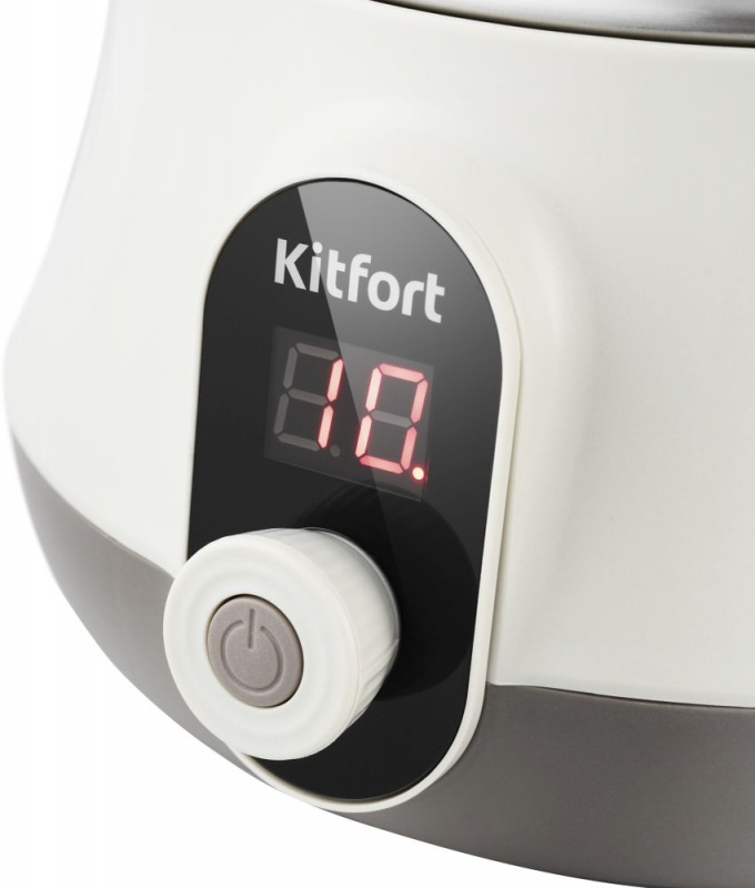Пароварка Kitfort KT-2035 5ярус. 600Вт серебристый